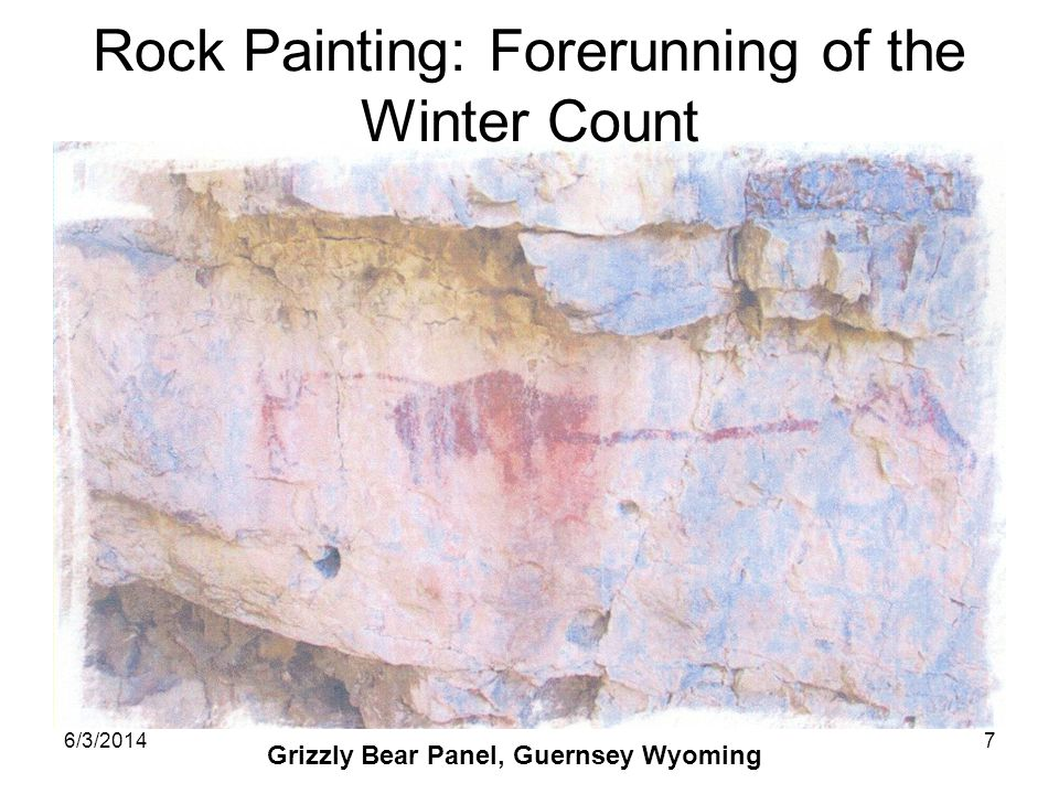 Rock Painting: Forerunning of the Winter Count