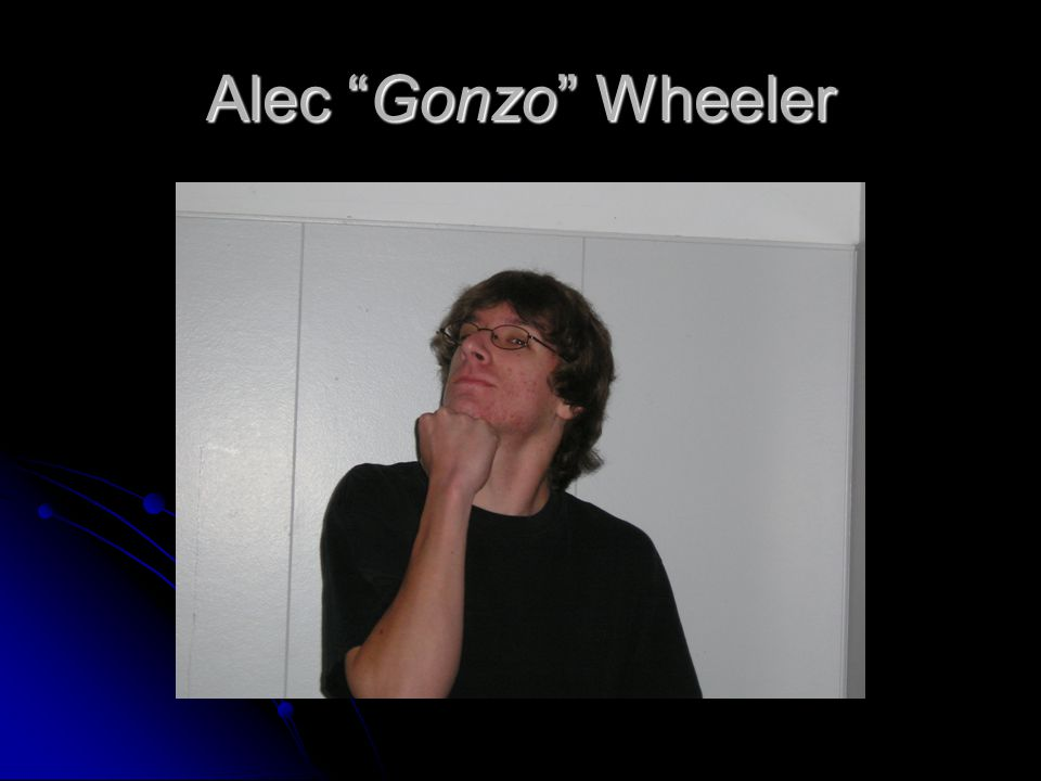 Alec Gonzo Wheeler