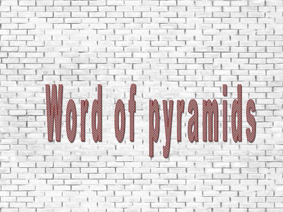 Word of pyramids