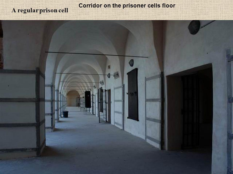 Corridor on the prisoner cells floor