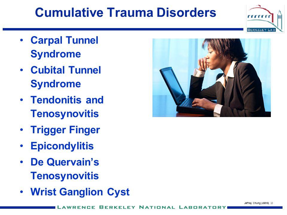 Cumulative Trauma Disorders