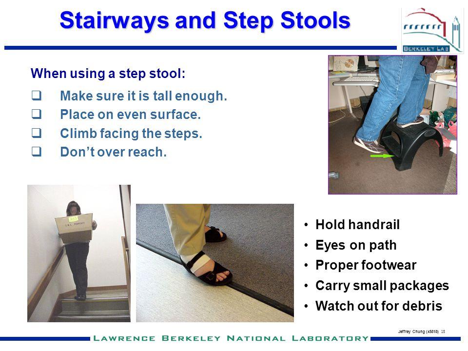 Stairways and Step Stools