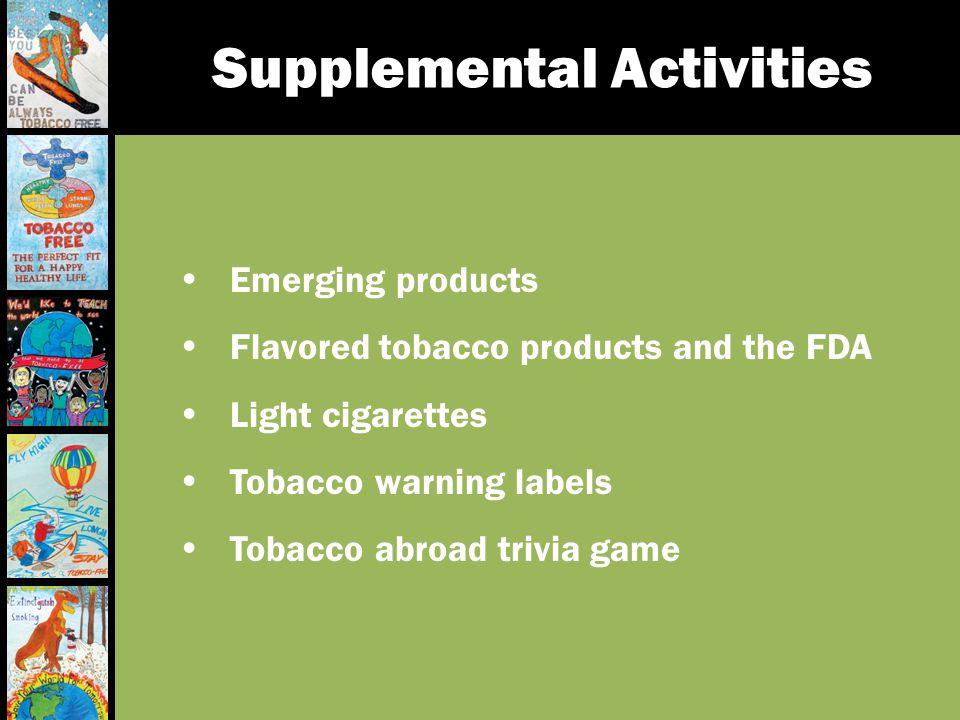 Supplemental Activities