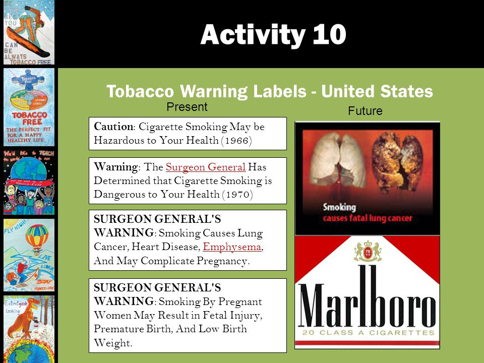 Tobacco Warning Labels - United States