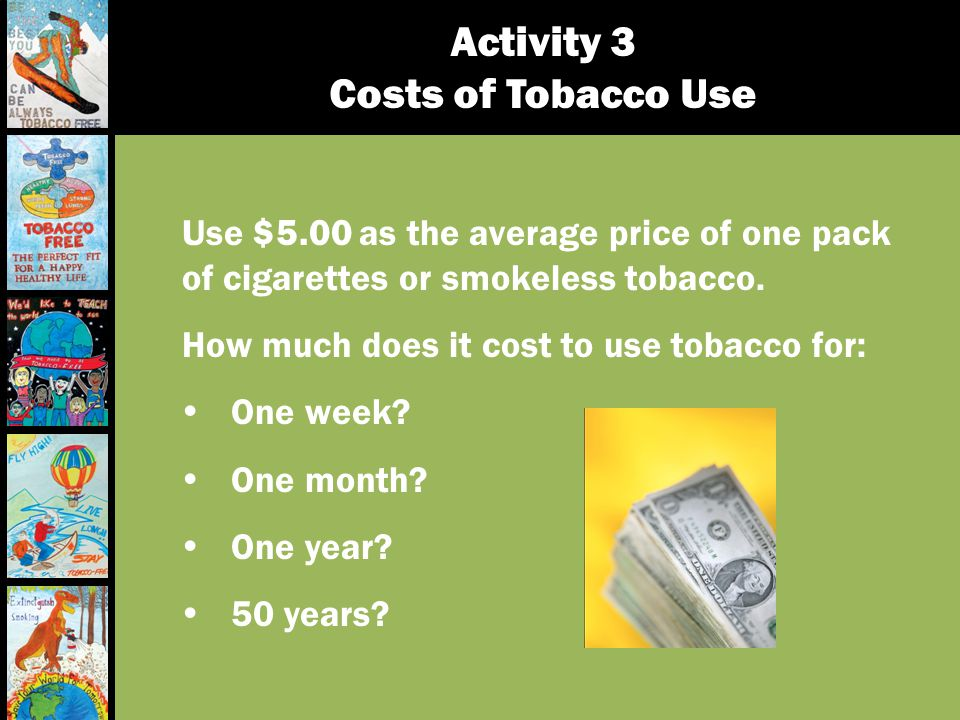 Activity 3 Costs of Tobacco Use