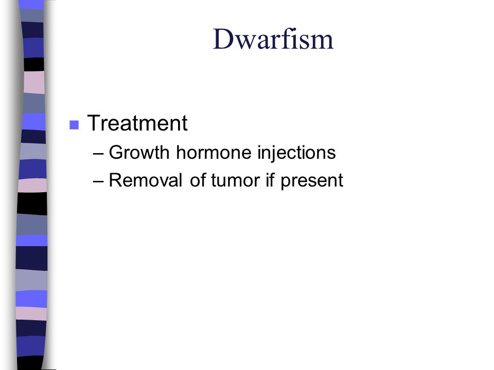 Dwarfism Treatment Growth hormone injections