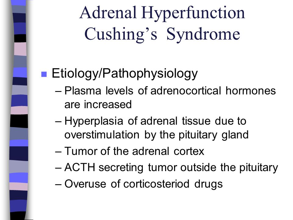 Adrenal Hyperfunction Cushing's Syndrome