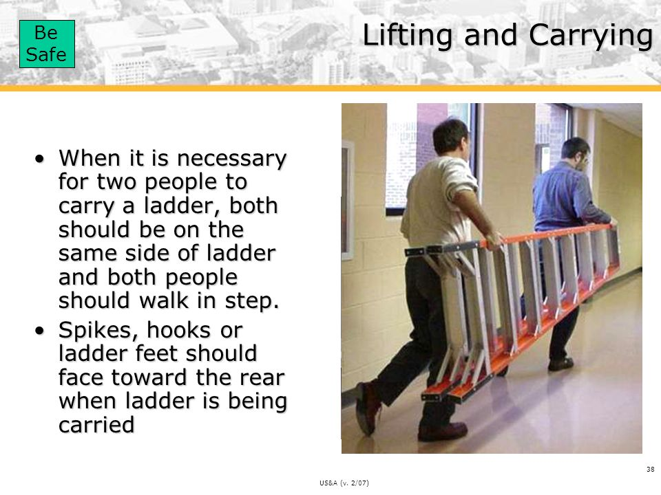Lifting and Carrying