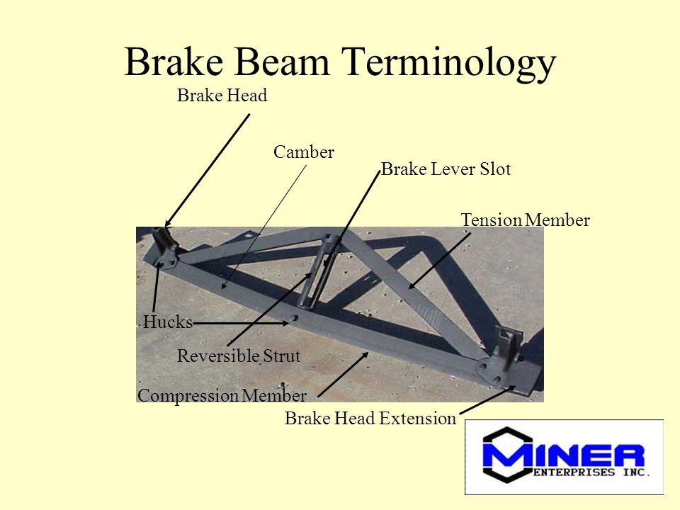 Brake Beam Terminology