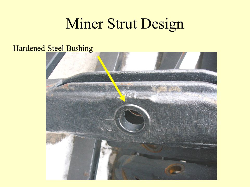 Miner Strut Design Hardened Steel Bushing