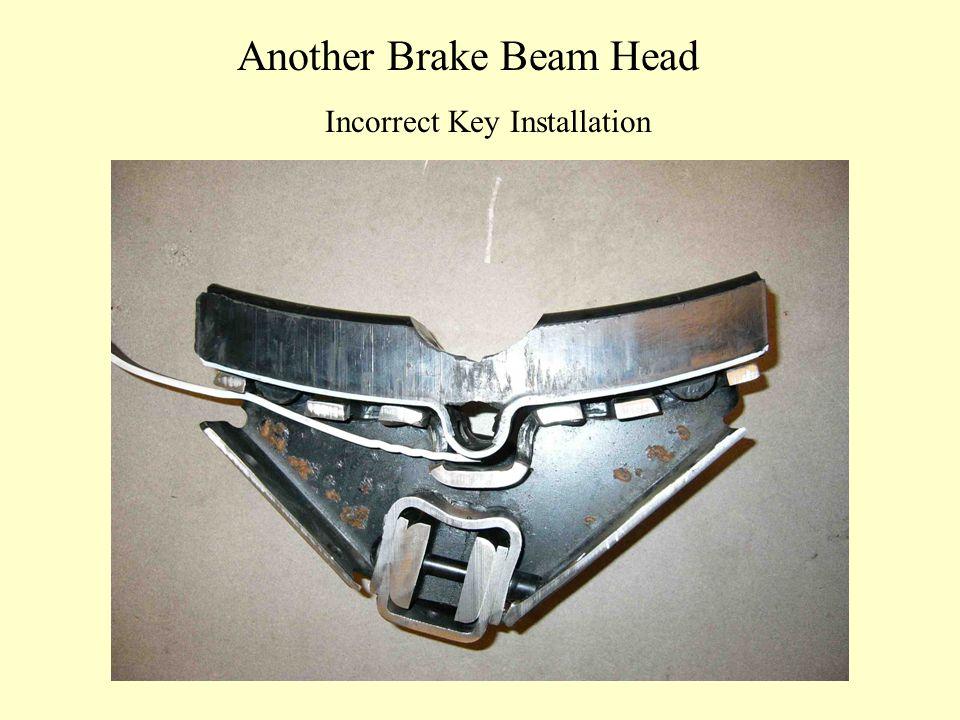 Another Brake Beam Head