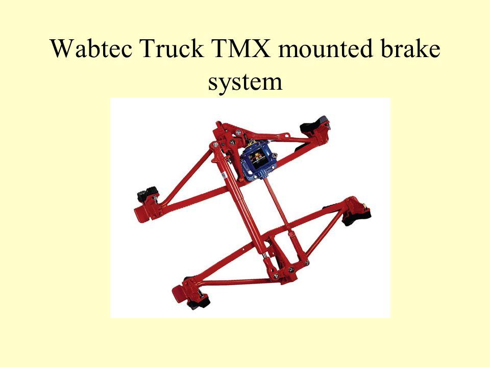 Wabtec Truck TMX mounted brake system