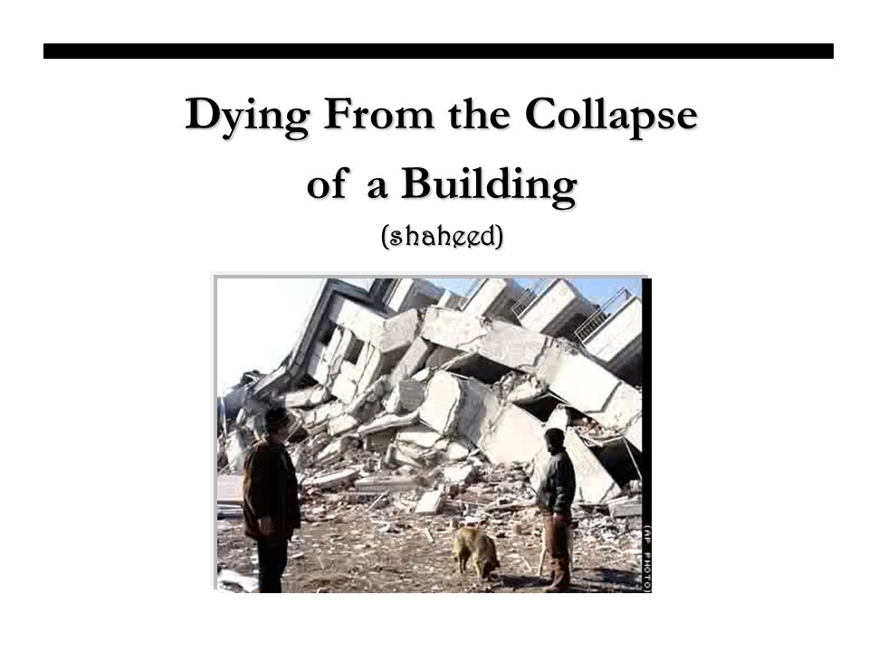 Dying From the Collapse