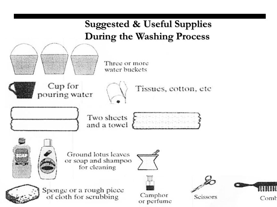Suggested & Useful Supplies