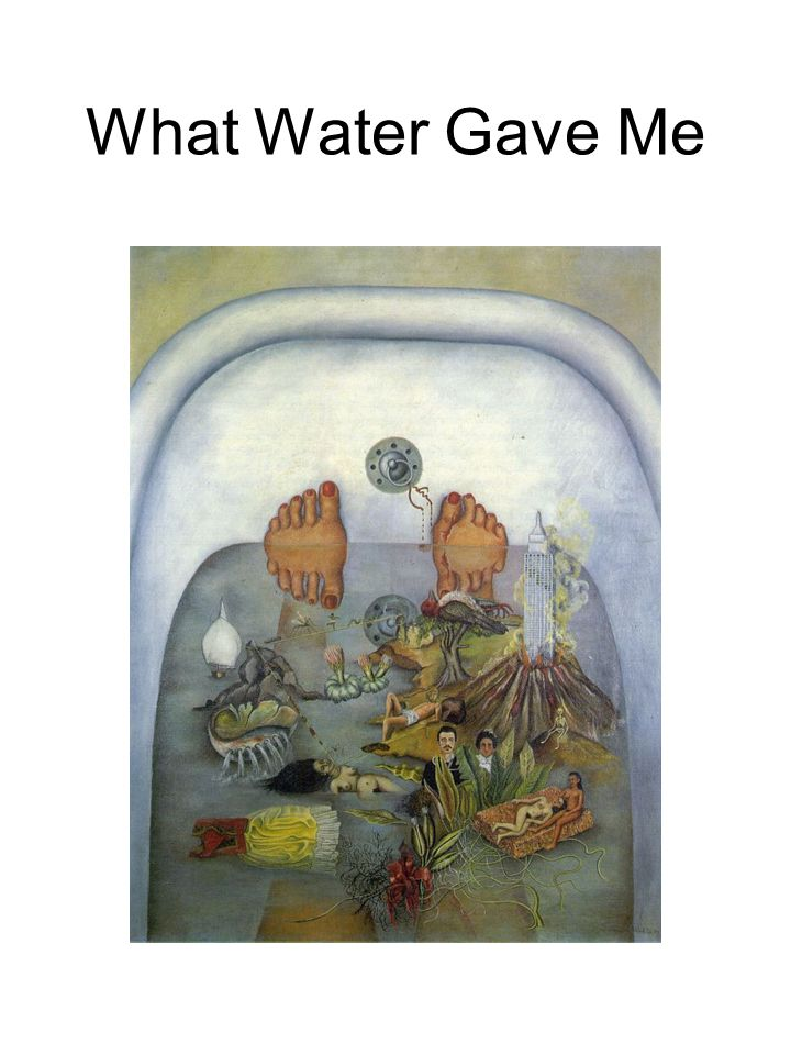 What Water Gave Me