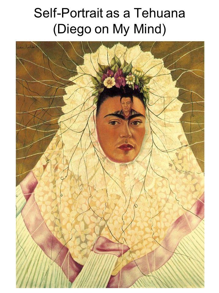 Self-Portrait as a Tehuana (Diego on My Mind)
