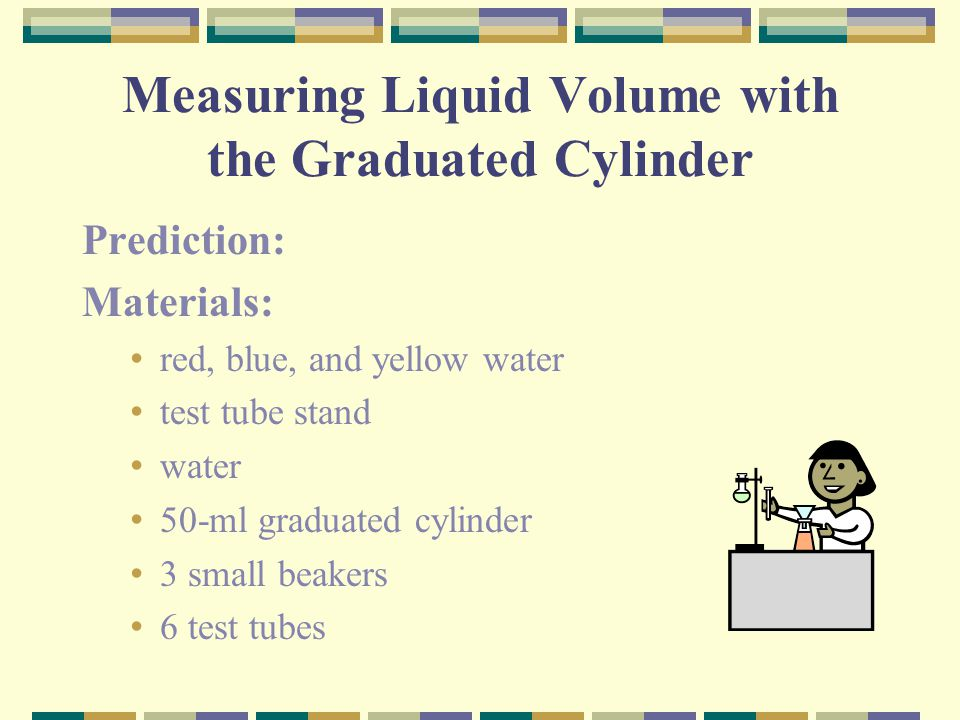 Measuring Liquid Volume with the Graduated Cylinder