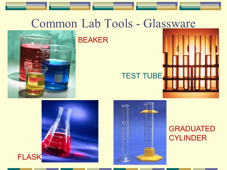 Common Lab Tools - Glassware