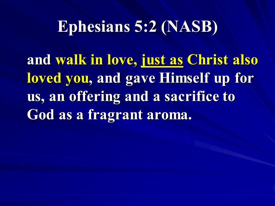 Ephesians 5:2 (NASB)