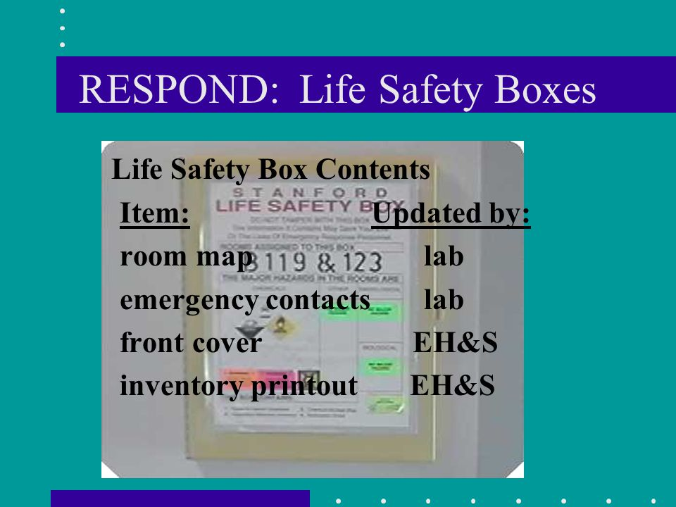 RESPOND: Life Safety Boxes