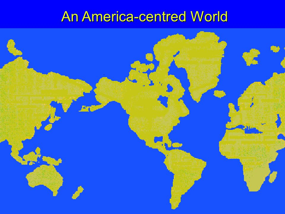 An America-centred World