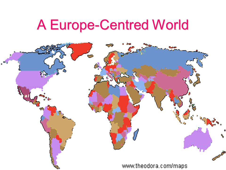 A Europe-Centred World
