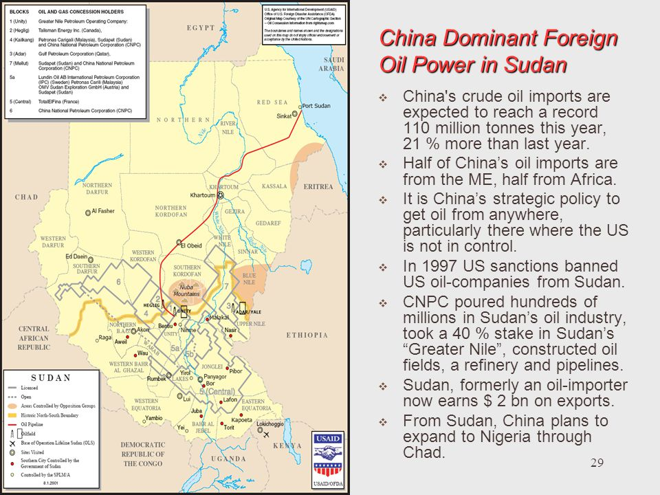 China Dominant Foreign Oil Power in Sudan