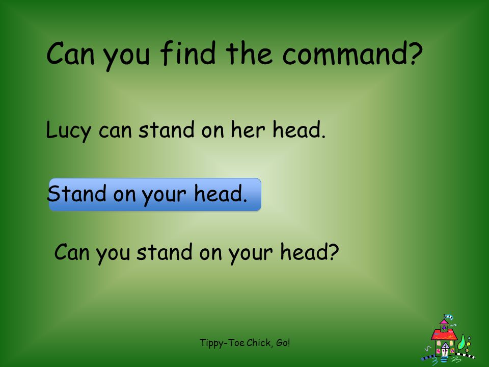 Can you find the command