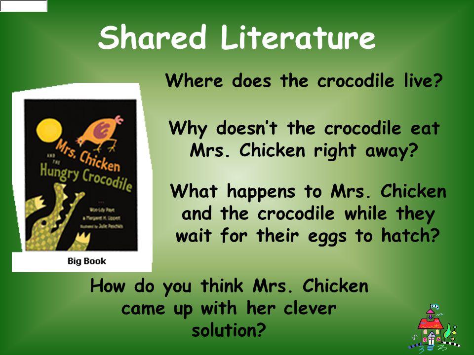 Where does the crocodile live