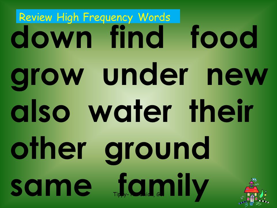 Review High Frequency Words