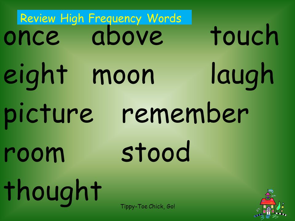 once above touch eight moon laugh picture remember room stood thought