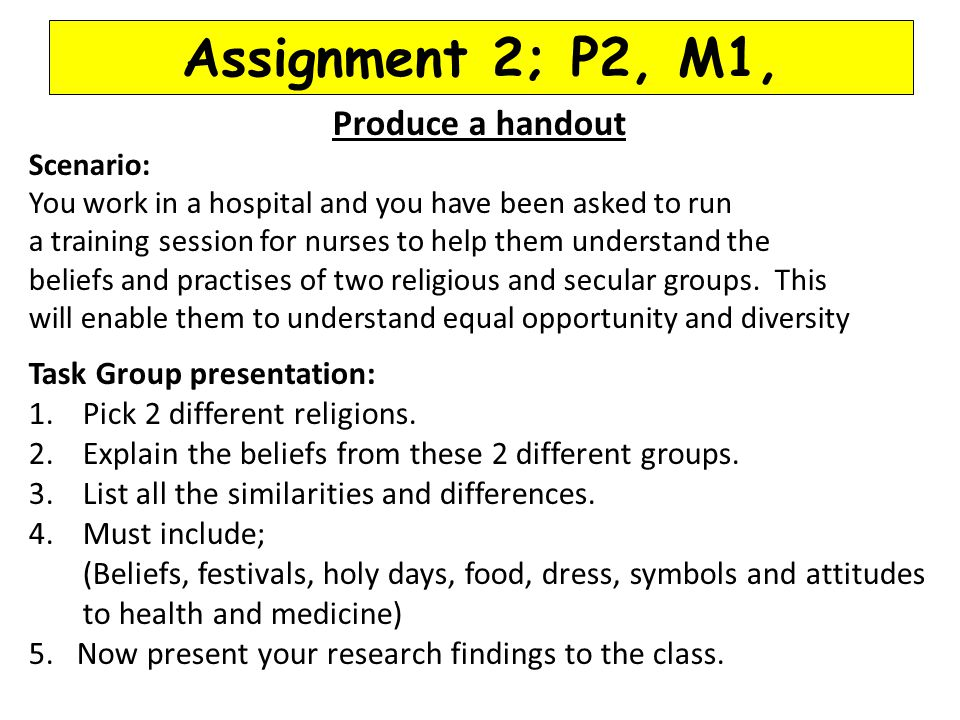 task p2 m1 Unit 03 - information systems this following consists of a bundle which includes p2 (task a), p7, m1 and m3, i have met all of the criteria.