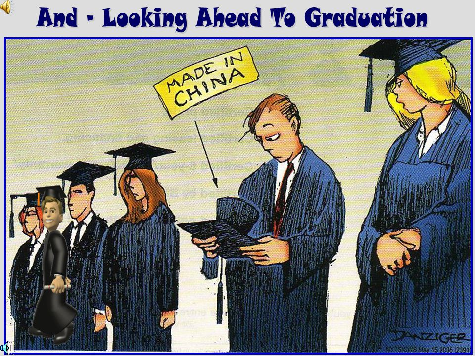 And – Looking Ahead To Graduation