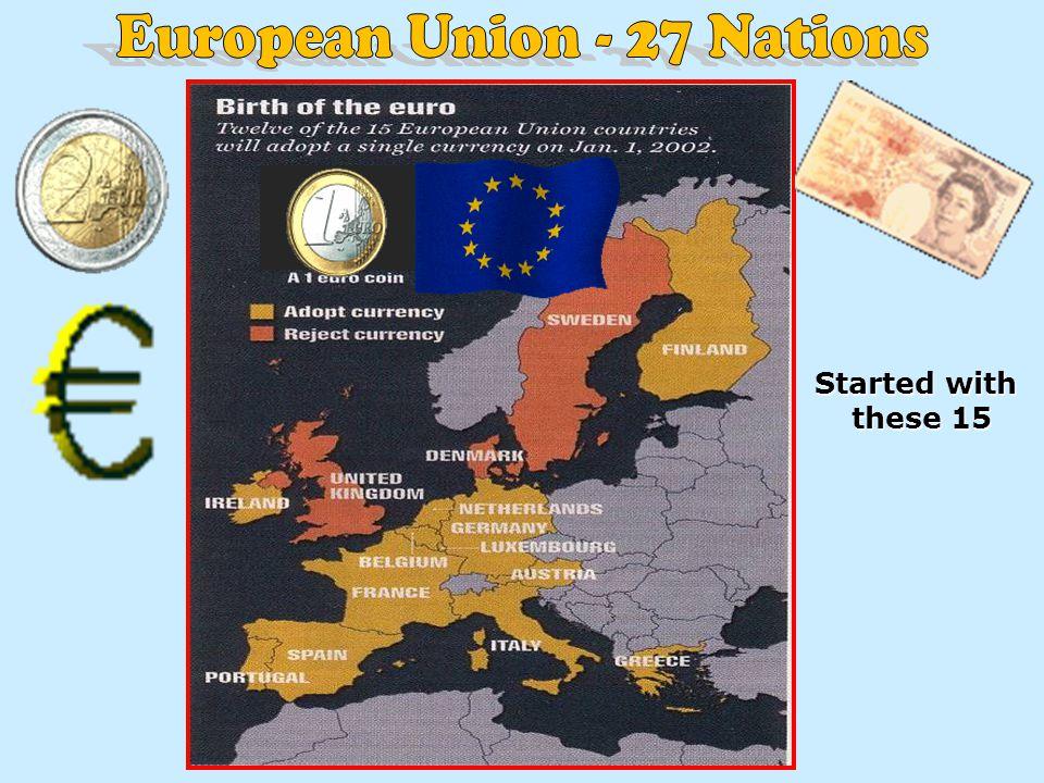 European Union - 27 Nations