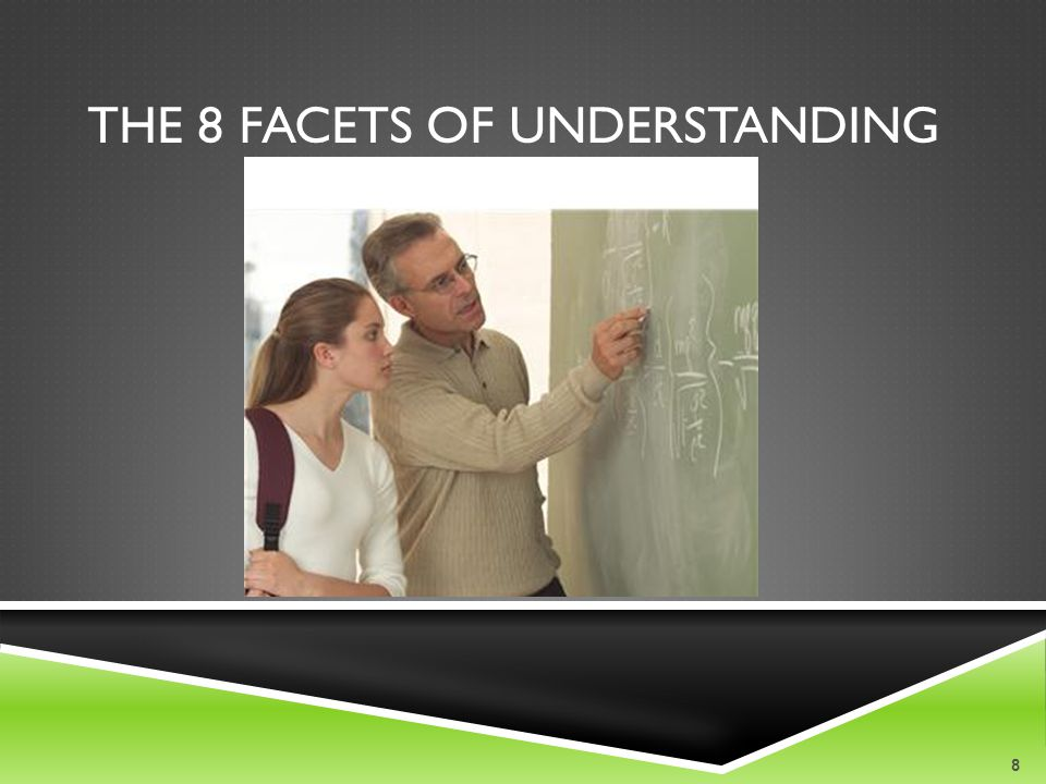 The 8 Facets of Understanding