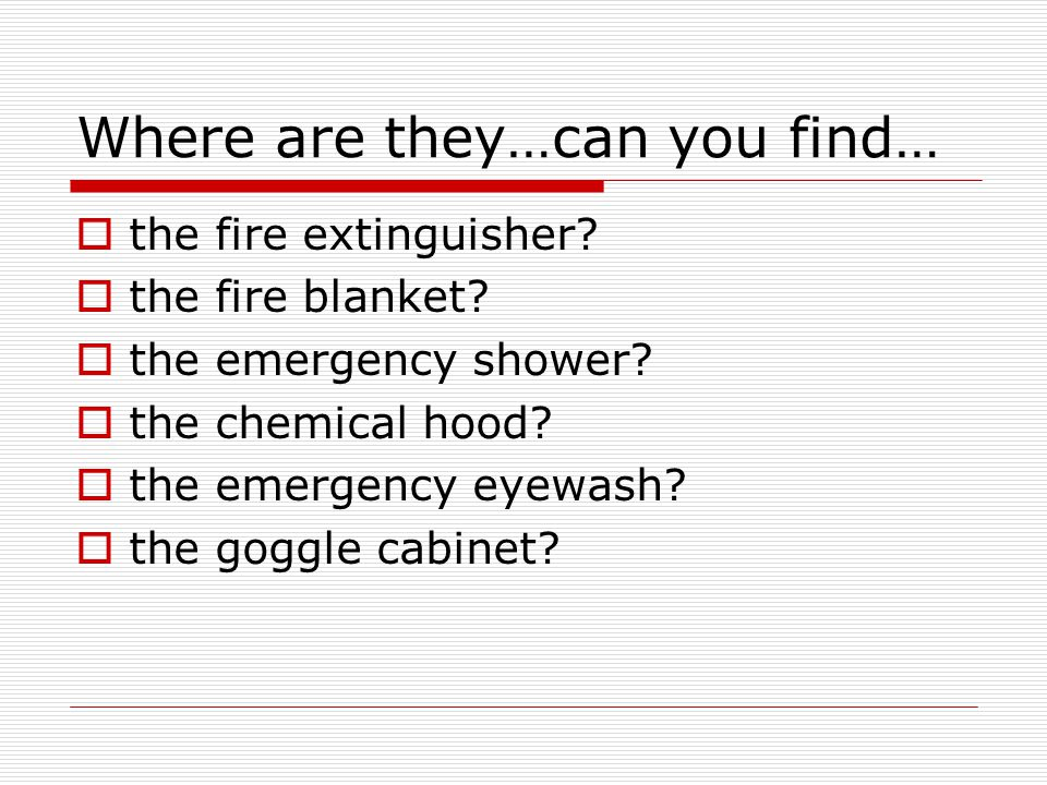 Where are they…can you find…