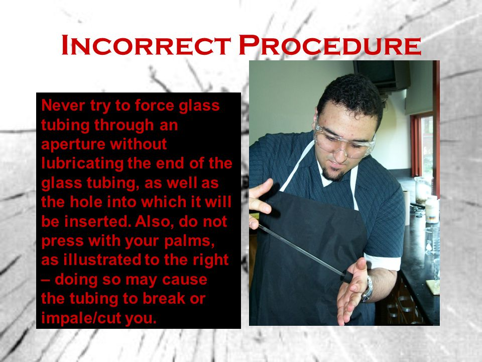 Incorrect Procedure
