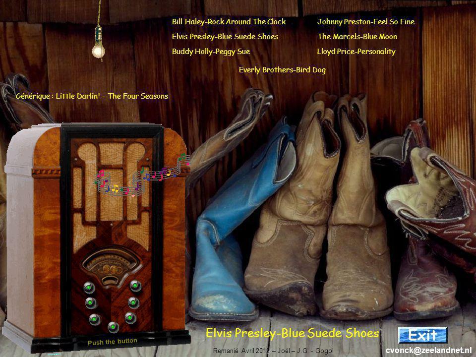 Elvis Presley-Blue Suede Shoes