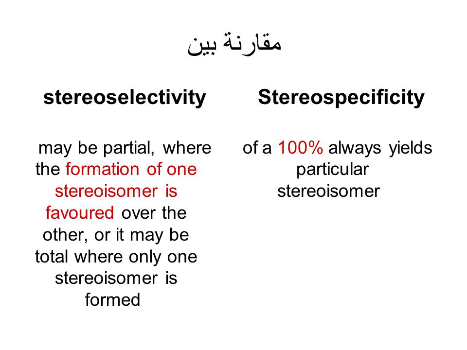 always yields 100% of a particular stereoisomer