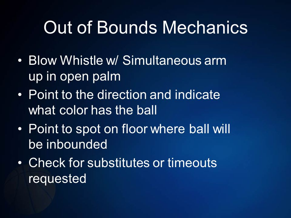 Out of Bounds Mechanics