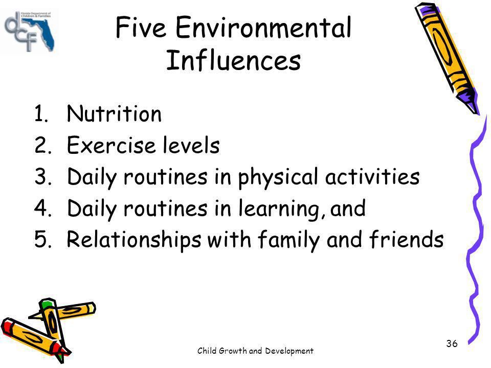 Five Environmental Influences