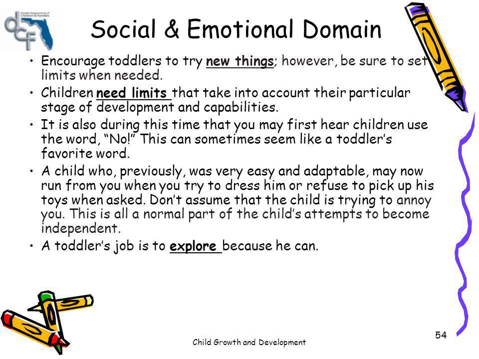Social & Emotional Domain