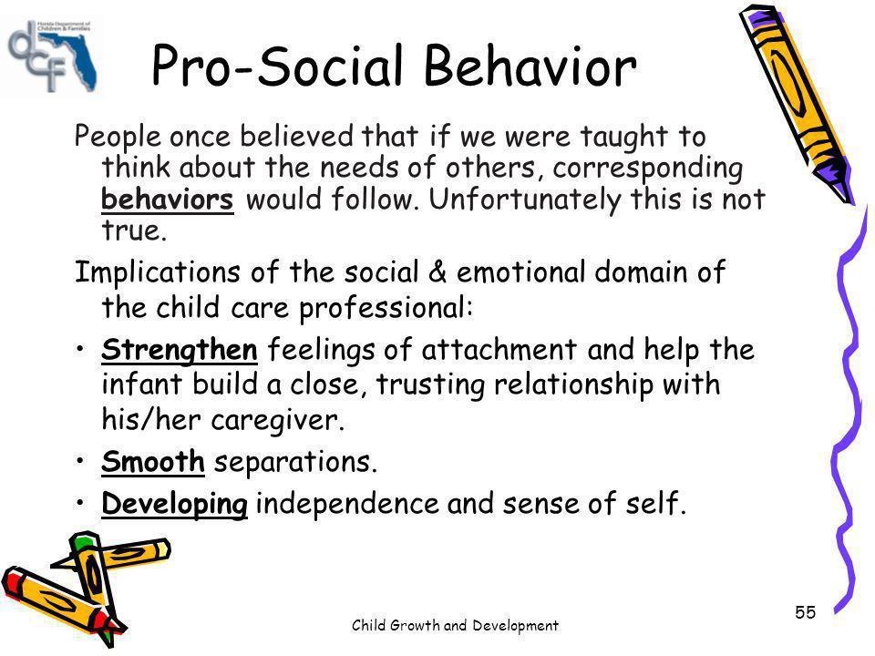 Pro-Social Behavior