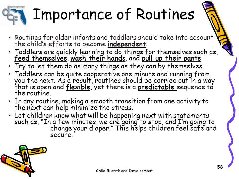 Importance of Routines