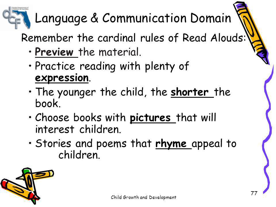 Language & Communication Domain