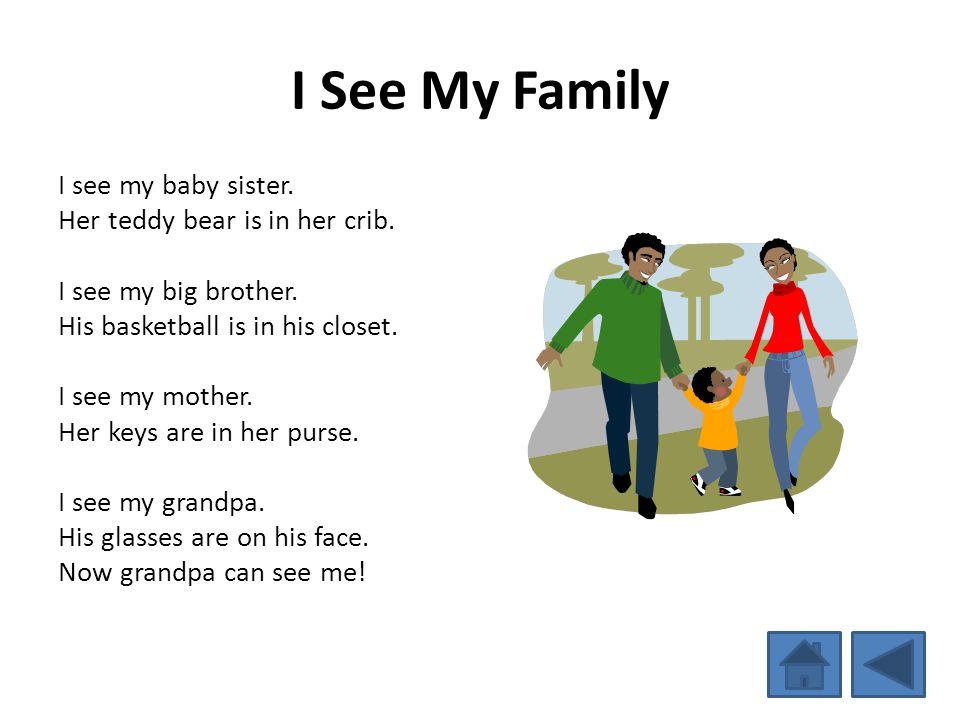 I See My Family