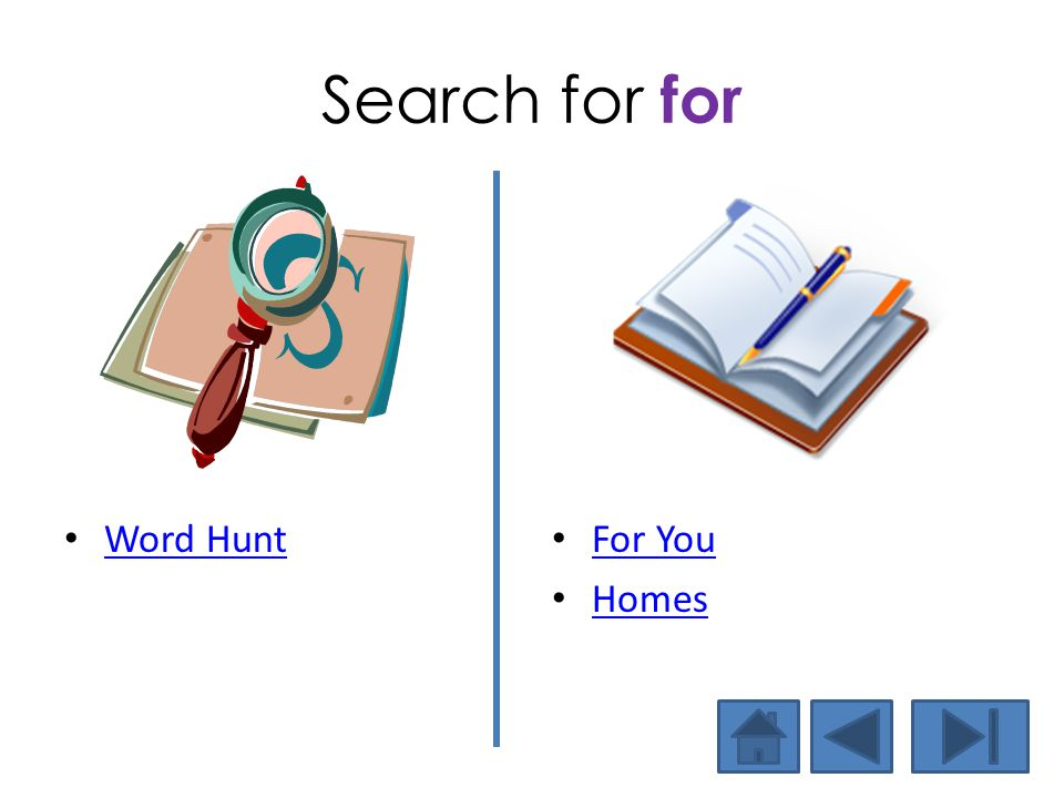 Search for for Word Hunt For You Homes