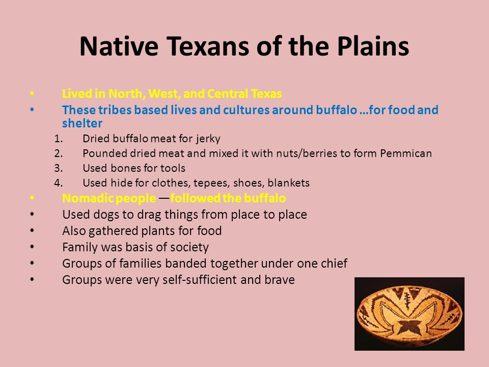 Native Texans of the Plains