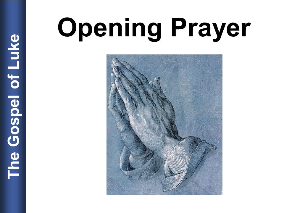 Opening Prayer 5