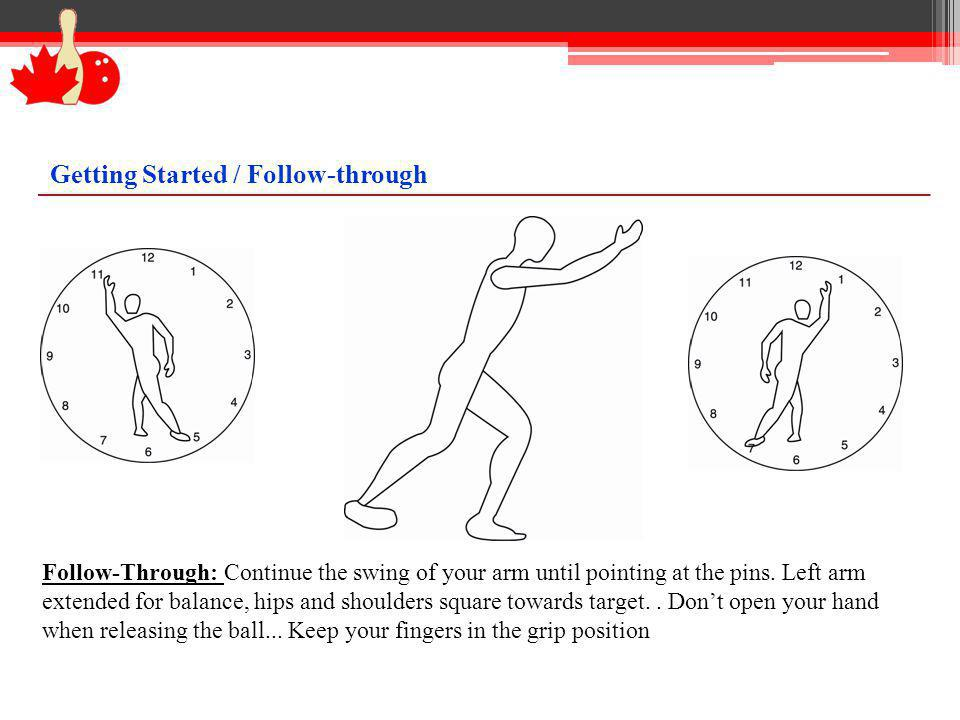 Getting Started / Follow-through